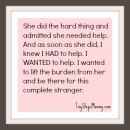 many mothers find it hard to ask for help